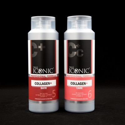 TRUE ICONIC набор Collagen шампунь + кондиционер