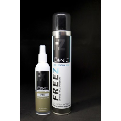 Фиксирующий спрей Fixx Hair Mist + лак Freez
