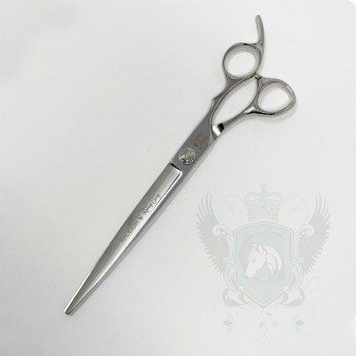 """ONYX Rhodium Прямые ножницы 8"""""""